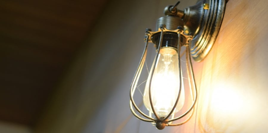 What should I do if my lights are flickering?