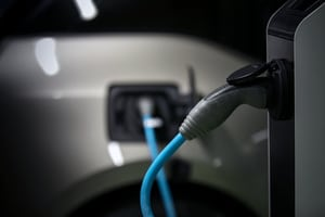 Electric vehicle charging outlet
