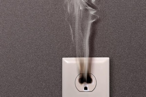 smoking outlet. When to consider rewiring a home